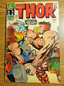 Mighty Thor #126 Key VG+ Hercules Cover 1st Solo Title Journey in Mystery Marvel