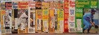 1978 - 1982 Lot Of 12 Vintage Issues Baseball Digest McCovey, Brett, Winfield