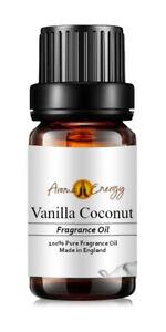 VANILLA & COCONUT - Pure Essential Fragrance Oil Blend