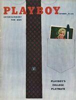 PLAYBOY SEPTEMBER 1958 Teri Hope June Wilkinson Lisa Winters Linda Vargas (2)