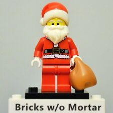 New Genuine LEGO Santa Minifig with Bag Series 8 8833