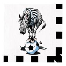 Tovaglioli Juve Zebrotto Juventus Bianco nero 33x33cm Compleanno 20 pz Art 60329