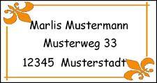 DF108# 40  Adressetiketten * Klassisch  * Büro  Schule Schultüte