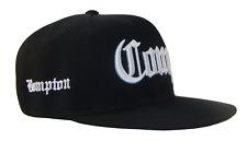 Black White Compton Bompton Los Angeles Flat Bill Retro Snapback Cap Caps Hat