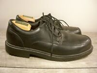 Red Wing 6612 Rio Grande Black Leather Oxford Derby Lace Up Steel Toe Shoes 10 D