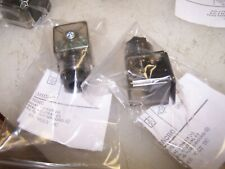 2) NEW SOLENOID CONNECTOR FOR 2 WIRE VALVES / GROUND  0 - 48VDC LOT OF 2