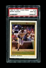 1991 BARRY BONDS OPC #12 O-PEE-CHEE PIRATES PSA 10