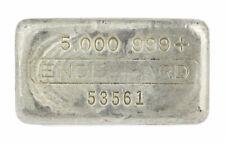 Old Engelhard 5th Series 5 oz .999 Fine Silver Bar S/N 53561 Est. <1300 Made