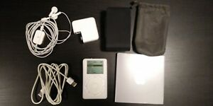 Apple iPod 20GB Classic 2nd Generation (A1019) (2002) Vintage Player Touch Wheel