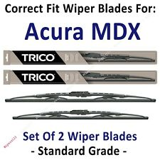 Wiper Blades 2-Pack Standard Wipers - fit 2007-2013 Acura MDX - 30260/210