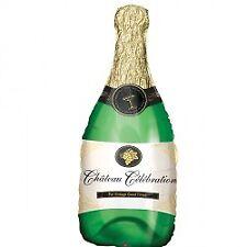 Amscan Super Attractive Design Shape Champagne Bottle Balloon Party Decoration
