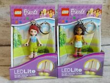 Lot 2 Figurines Lego Friends LedLite porte clés Led NEUF