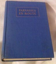 PARNASSUS EN ROUTE - Hardcover - book of poetry - complied by KENNETH HORAN 1929