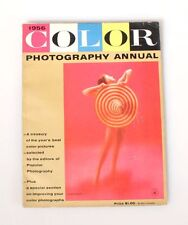1956 POPULAR PHOTOGRAPHY COLOR ANNUAL MAGAZINE