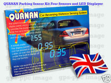 QUANAN Parking Reversing Sensor  4 Sensors LED Display in black