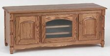 #1880 Solid Wood  Country Oak  TV Stand