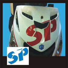 Adesivo Piaggio Zip logo SP Azzurro  - adesivi/adhesives/stickers/decal