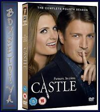 CASTLE - SEASON 4 - COMPLETE SEASON 4 ***BRAND NEW DVD ***