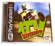 PLAYSTATION ATV MANIA VIDEO GAME & CASE