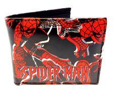 MARVEL COMICS AMAZING SPIDERMAN LOGO SUBLIMATED PRINT GRAPHIC MENS BIFOLD WALLET