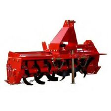 Rotary Hoe Tiller 4ft Tractor cultivator 1200mm with Chain Driven, PTO Shaft