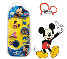 Mickey Donald Duck - Exchangeable Cover Case Toy - Kids Electronic Digital Watch