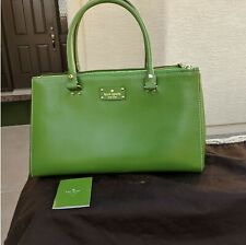 Kate Spade Wellesley Martine Leather XL Satchel Tote Handbag