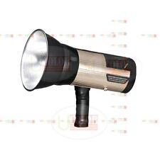 Nicefoto n680A 600W Portable Wireless Embeded Battery Strobe Flash Light Golden