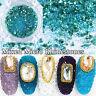 Crystal Glass Nail Caviar Beads Glitter Rhinestone Nail Art Tiny 3D Microbeads l