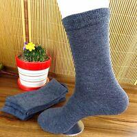 6Pairs Mens Socks Lot Classic Cotton Casual Dress Socks 20*23cm CH96