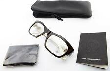 Chrome Hearts Glasses Blue Ballz Ccp 51 22 135 Brown Lily Japan + Case