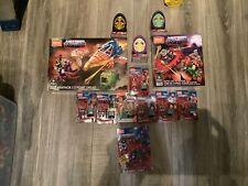 Mega Construx Masters Universe Lot He-Man Farero Man Skeletor Panthor New! Fisto