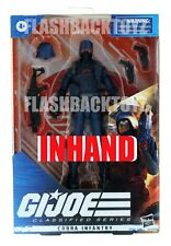 2021 Hasbro Gi Joe Classified Series Cobra Infantry #24 Action Figure In Hand