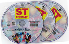 ST FORMAT MAGAZINE Full Collection + Extras on Disk (STE/ST/STFM/Falcon Games)