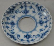 Royal Copenhagen Blue Fluted-Full Lace  Bobeche/Candle Ring