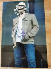 More details for oasis signed photo liam gallagher