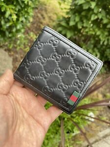 Gucci  men wallet card holder pocket organiser ultra rare model  100% authentic