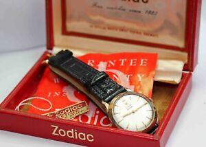 c.1960s vintage ZODIAC AUTOMATIC Mens Wristwatch - EXCELLENT CONDITION