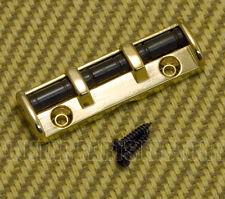 """RN001-G Gold Guitar Roller Nut Fender Style for Strat & Tele 1-11/16"""""""