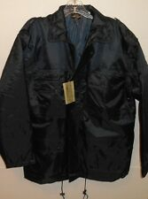 Mil-tec By Sturn Handels GMBH Germany Quilted Blue Coat Jacket Men's Small Nwt