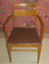 Oak Office Desk Chair by Royal Easy Chair Co Sturgis Michigan Mid Century Modern