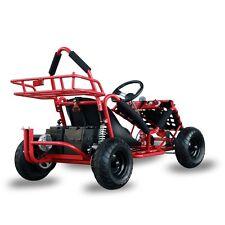 Electric Racing Outdoors Go Kart 48v 1000w Kids Quads Off Road Go Kart Red Cart