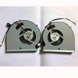 New For Gigabyte Aero15 RP64W RP65W CPU Fan & GPU Fan BS5005HS-U2M BS5005HS-U2N