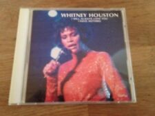 """WHITNEY HOUSTON """"DYNAMIC LIVE"""" 1994 CD 13 LIVE TRACKS RECORDED LIVE IN EUROPE 92"""