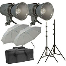 Impact Two Monolight Kit with Case (120VAC) 320 Total Watt/Seconds