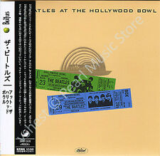 BEATLES AT THE HOLLYWOOD BOWL '64-65 CD MINI LP OBI Harrison Lennon McCartney