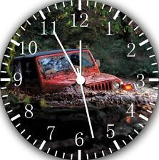 Jeep Wrangler off road Frameless Borderless Wall Clock For Gifts or Decor E320