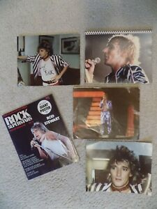 Rod Stewart - Memorabilia, Poster & Candid Photos, Rock & Roll