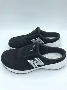 RARE New Balance M990 SB3 Black Sneaker Slip-On USA Made Vintage Womens 9