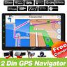 """Quad-Core 10.1"""" doppio 2DIN RDS Autoradio Android 9.0 GPS NAVI WiFi HD OBD DAB+"""